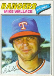 1977 Topps Baseball Cards      539     Mike Wallace