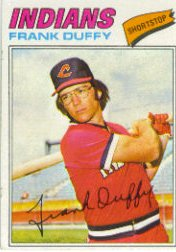 1977 Topps Baseball Cards      542     Frank Duffy