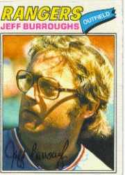 1977 Topps Baseball Cards      055      Jeff Burroughs