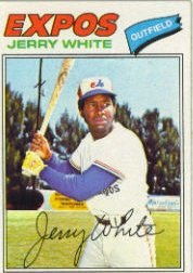 1977 Topps Baseball Cards      557     Jerry White
