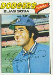 1977 Topps Baseball Cards      558     Elias Sosa