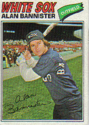 1977 Topps Baseball Cards      559     Alan Bannister RC