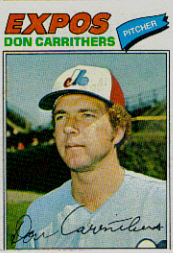 1977 Topps Baseball Cards      579     Don Carrithers