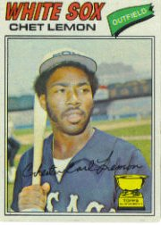 1977 Topps Baseball Cards      058      Chet Lemon