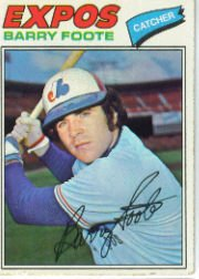 1977 Topps Baseball Cards      612     Barry Foote