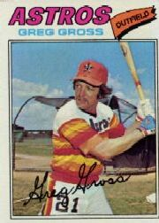 1977 Topps Baseball Cards      614     Greg Gross