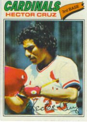 1977 Topps Baseball Cards      624     Hector Cruz
