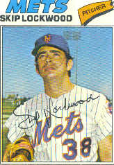 1977 Topps Baseball Cards      065      Skip Lockwood