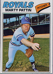 1977 Topps Baseball Cards      658     Marty Pattin