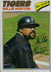 1977 Topps Baseball Cards      660     Willie Horton