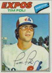 1977 Topps Baseball Cards      076      Tim Foli