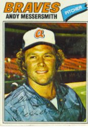 1977 Topps Baseball Cards      080      Andy Messersmith