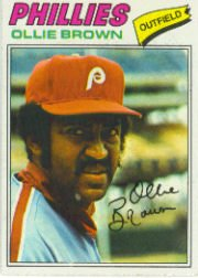 1977 Topps Baseball Cards      084      Ollie Brown