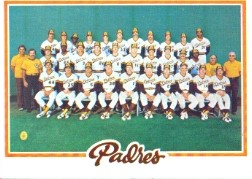 1978 Topps Baseball Cards      192     San Diego Padres CL
