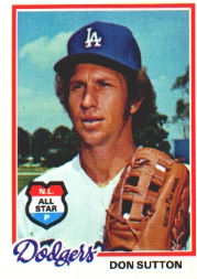 1978 Topps Baseball Cards      310     Don Sutton