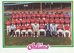 1978 Topps Baseball Cards      689     Cleveland Indians CL