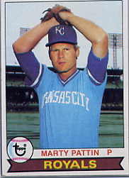 1979 Topps Baseball Cards      129     Marty Pattin DP