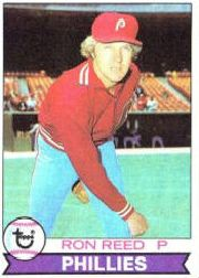 1979 Topps Baseball Cards      177     Ron Reed