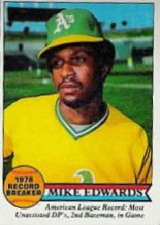 1979 Topps Baseball Cards      201     Mike Edwards RB