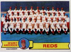 1979 Topps Baseball Cards      259     Cincinnati Reds CL/Sparky Anderson