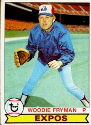 1979 Topps Baseball Cards      269     Woodie Fryman