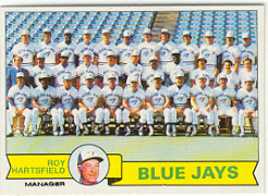 1979 Topps Baseball Cards      282     Toronto Blue Jays CL/Roy Hartsfield