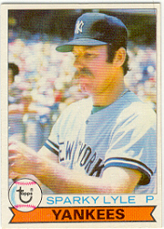 1979 Topps Baseball Cards      365     Sparky Lyle