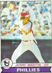 1979 Topps Baseball Cards      382     Jerry Martin