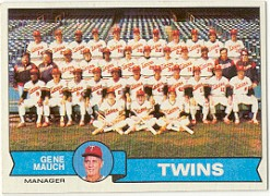1979 Topps Baseball Cards      041      Minnesota Twins CL/Gene Mauch