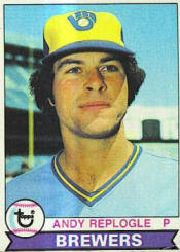 1979 Topps Baseball Cards      427     Andy Replogle RC