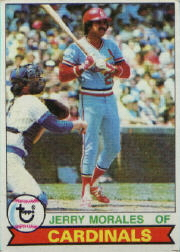 1979 Topps Baseball Cards      452     Jerry Morales