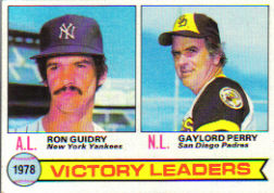 1979 Topps Baseball Cards      005      Ron Guidry/Gaylord Perry LL