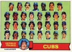 1979 Topps Baseball Cards      551     Chicago Cubs CL/Herman Franks
