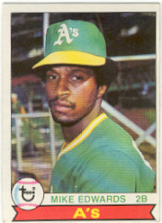 1979 Topps Baseball Cards      613     Mike Edwards RC