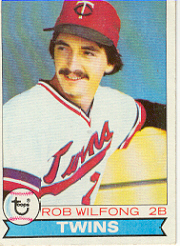 1979 Topps Baseball Cards      633     Rob Wilfong DP RC