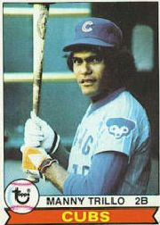 1979 Topps Baseball Cards      639     Manny Trillo