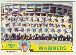 1979 Topps Baseball Cards      659     Seattle Mariners CL/Darrell Johnson