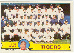 1979 Topps Baseball Cards      066      Detroit Tigers CL/Les Moss