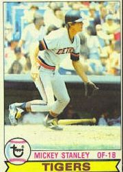 1979 Topps Baseball Cards      692     Mickey Stanley