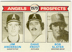 1979 Topps Baseball Cards      703     Jim Anderson/Dave Frost/Bob Slater RC