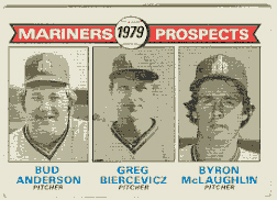 1979 Topps Baseball Cards      712     Bud Anderson/Greg Biercevicz/Byron McLaughlin RC