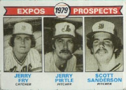 1979 Topps Baseball Cards      720     Jerry Fry/Jerry Pirtle/ Scott Sanderson RC