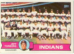 1979 Topps Baseball Cards      096      Cleveland Indians CL/Jeff Torborg