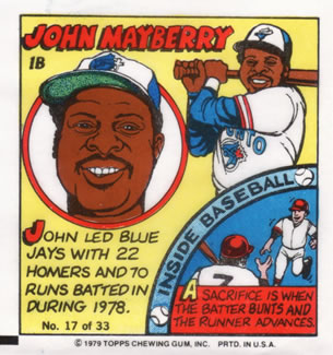 1979 Topps Comics       017      John Mayberry