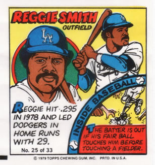 1979 Topps Comics       025      Reggie Smith