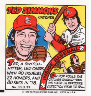 1979 Topps Comics       030      Ted Simmons