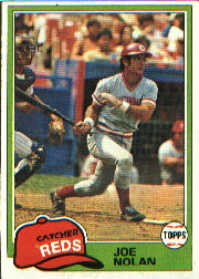 1981 Topps Baseball Cards      149     Joe Nolan RC