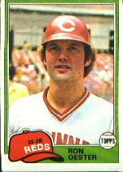 1981 Topps Baseball Cards      021      Ron Oester