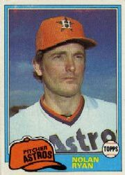 1981 Topps Baseball Cards      240     Nolan Ryan