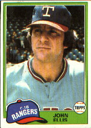 1981 Topps Baseball Cards      339     John Ellis